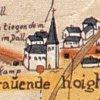 Ausschnitt der Mercatorkarte von 1575